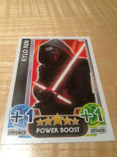 STAR WARS Force Awakens - Force Attax Trading Card #112 Kylo Ren