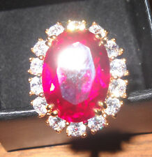 Camrose & Kross Jacqueline Jackie Kennedy   Sim.Ruby Ring Size 6