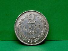 Latvia 2 Lats Coin 1926, Silver 835.