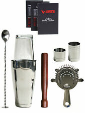 Winware Boston Cocktail Shaker Gift Set. For Making Drinks at the Bar
