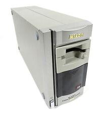 NIKON SUPER COOLSCAN 4000 ED 35MM SLIDE / FILM SCANNER + SA-21 FILM STRIP HOLDER