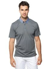 NIKE MEN GOLF TRANSITION CHAMBRAY POLO SHIRT XXL NWT DARK GRAY NEW 685729