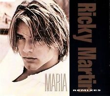 Ricky Martin ‎Maxi CD Maria (Remixes) - Europe