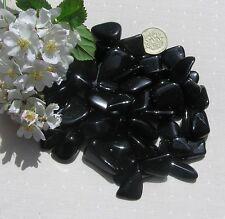 10 Stunning Black Tourmaline (Schorl) Crystal Tumblestones