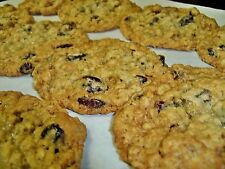 Carolyn's CRANBERRY Oatmeal Pecan and Honey Cookies  WHOLESOME and Homemade