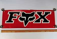 FOX MOTOCROSS OFF ROAD APPAREL BANNER NEW UNUSED Honda Suzuki Yamaha Kawasaki
