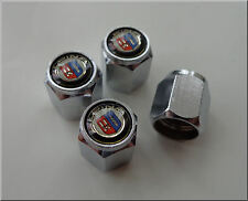 BMW CHROME DUST / VALVE CAPS SET OF 4 WITH LOGO