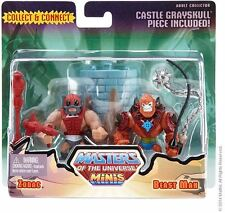 Mini MOTU ZODAC vs. BEAST MAN Masters of the Universe Classics HE MAN NEU & OVP
