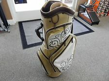 NEW! Bag Boy OCB Plus Ladies Cart Bag - w/ Matching Rain Hood - 10 Way Divider