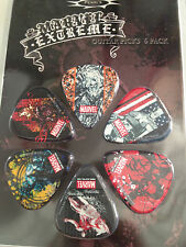 MARVEL EXTREME COMICS PICKS ELECTRIC OR ACOUSTIC MEDIUM GAUGE COLLECTIBLE GIFT