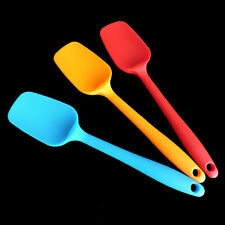 Silicone Spoon Utensil Heat Resistant Non-Scratch Spatula Cooking Baking Tools