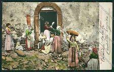 Palermo Costumi Siciliani cartolina QQ0855