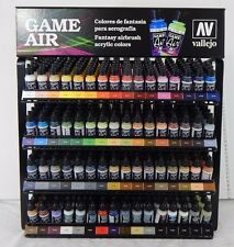 Brand New Vallejo Game Air Paints - Complete Set of all 64 Paints