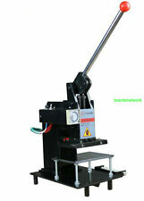 Manual 220V Hot Foil Stamping Machine Leather Logo embossing machine 15*10CM