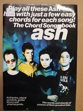 songbook ASH the chord song book