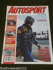 AUTOSPORT - NASCAR HORROR SMASH AT TALLADEGA - JULY 29 1993