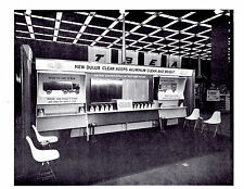 1968 DUPONT NATIONAL SHOW BOOTH SETUP DETAILS & PICTURES D8