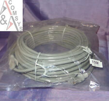 15m Netzwerkkabel RJ45 Cat5 Cat5e Cat.5e Cat6 DSL LAN Patch Kabel Patchkabel