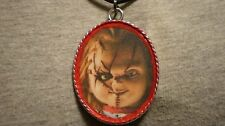 Big Novelty Chucky Childs Play Zombie Necklace Horror Psychobilly Goth Jewelry
