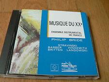 Philip Bride - Ensemble Instrumental de France - Musique du XXè- Stravinsky CD