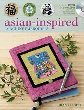 Asian-Inspired Machine Embroidery, Elliott, Joan, Good Book