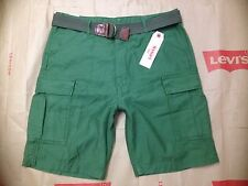 Levi's Size 36, Men's Fort Cargo Short, Relaxed 100% Cotton, Green, $56.00 new