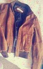 ZARA brown suede jacket (size M)