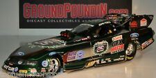 "SIGNED W-COA COLORCHROME 2010 John Force ""CASTROL 25th Anniv."" NHRA Funny Car"