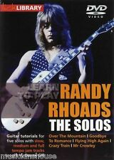 lick Library Randy Rhoads The Solos Gitarre Lern-DVD