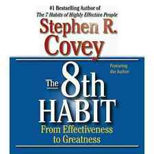 New  CD The 8th Habit Stephen Covey nlp