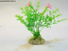 "(S01) 4"" Inch Realistic Artificial Plants for Aquarium/Fish Tank (SHIP FROM USA)"