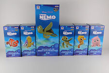 FINDING NEMO World Collectable Figure Complete set + Crush DISNEY PIXAR BANDAI