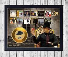 EL BARRIO 20 AÑOS CUADRO CON GOLD O PLATINUM CD EDICION LIMITADA. FRAMED