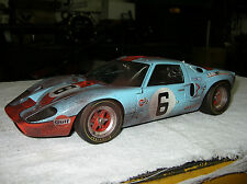 GMP 1/12 1969 FORD GT 40 GULF 1969 LEMANS 24 HR WINNER JACKY ICKX JACKIE OLIVER