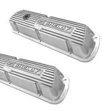 SHELBY GT350 Mustang Valve Covers Cobra Ford Aluminum Polished 289 Hipo Pair