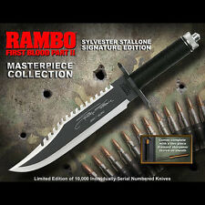 HCG Rambo First Blood Part II Knife Stallone Edition Replica NEW SEALED