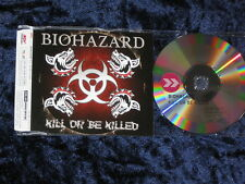 Biohazard ‎– Kill Or Be Killed Promo-CD SPV 085-74782-P slim jewel case