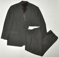 Brooks Brothers 346 Green Ghingham 2 Piece Dress Suit Wool Blend Sz 44 M *AS IS*