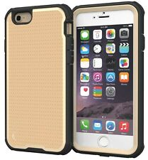 roocase Apple iPhone 6/6S VersaTough Case, Fossil Gold
