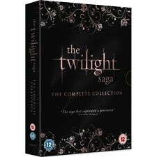 The Twilight Saga - Complete Collection (DVD, 2013, 5-Disc Set, Box-Set)