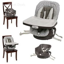 Graco 3V01ABG Swivi Seat 3-in-1 Booster Seat, Infant High Chair, Abbington New