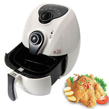 Electric Air Fryer w/ Temperature Control & Programmable Timer & Carry Handle