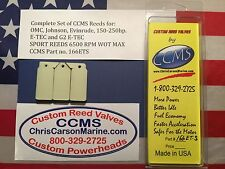 CCMS Johnson Evinrude Sport Outboard Reed 150-250hp E-TEC & G2 ETEC PN166ETS