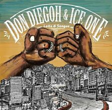 DON DIEGOH & ICE ONE - LATTE E SANGUE - 2LP VINYL NEW SEALED 2015 COPY # 646