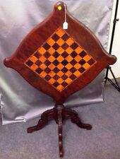 Mid 1800's Tilt Top Game Table Lot 231