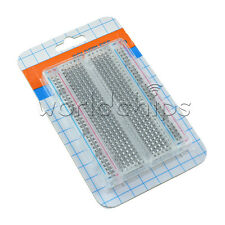 Mini Universal Solderless Breadboard Transparent Material 400 Points Available