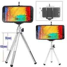 Trépied Téléphone cam  Support vis reglable et porte tout model téléphone gris