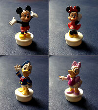 Disney / Nestlé 1990 - Pack Figurines Collector - Mickey, Minnie, Donald, Daisy