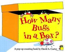 How Many Bugs in a Box? : A Pop Up Counting Book by David A. Carter (1988, HC)