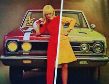 1967 Plymouth GTX Satellite Goldilocks NHRA MOPAR car ad print gift 1968 1966